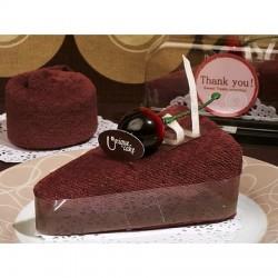 Asciugamano a forma di torta cheesecake