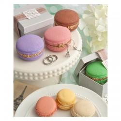 Portagioie a forma di Macaron vari colori