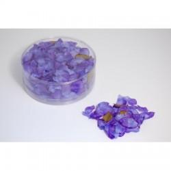 Petali di rosa di colore blu/viola