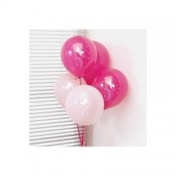 Palloncini decorativi rosa 8 pezzi