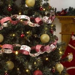 Ghirlanda decorativa per Natale 2,5 m