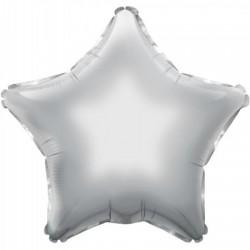 Palloncino argento a forma di stella