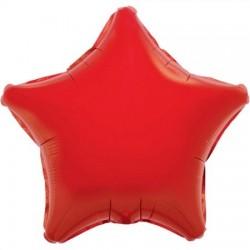 Palloncino rosso a forma di stella