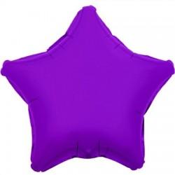 Palloncino viola a forma di stella