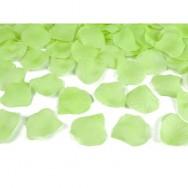 Petali in tessuto di colore verde 100 pezzi