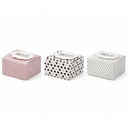 Box portaconfetti serie sweet love 6 pezzi