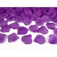 Petali in tessuto di colore viola 100 pezzi