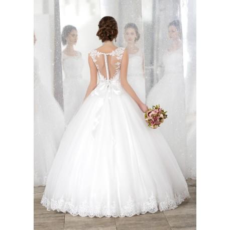 0d894b429773 Abito da sposa e cerimonia principesco Mod. Magda - LeMieNozze SHOP