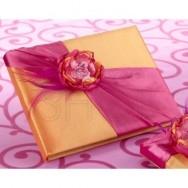 Guestbook colorato stile primavera