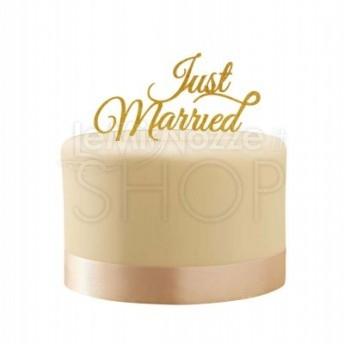 Cake Topper Oro