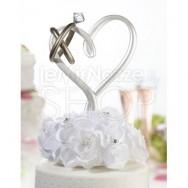 Cake topper anelli