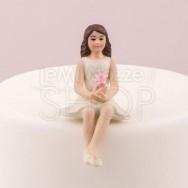 Cake topper ragazza