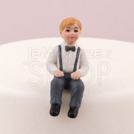 Cake topper bambino