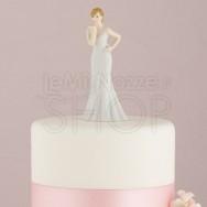 Cake Topper Sposa Kiss