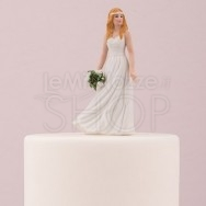Cake Topper Sposa Trendy