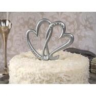 Cake topper cuori
