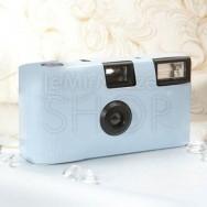 Macchinetta fotografica usa e getta azzurra