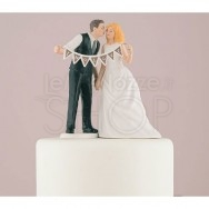 Cake topper sposi In Love