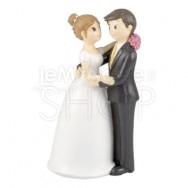 Cake topper ballo degli sposi