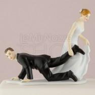Cake topper potere alla sposa