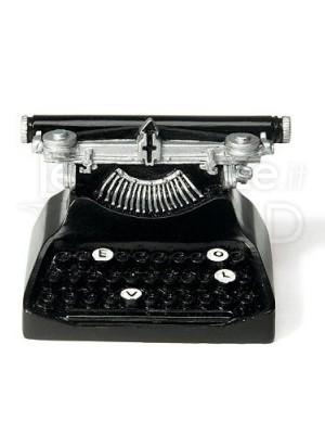 Segnaposto a forma di macchina da scrivere 6 pezzi