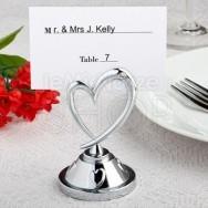 Segnaposto e segnatavolo romantico cuore