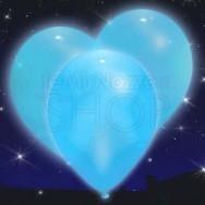 Palloncini a led blu 5 pezzi