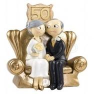 Cake topper nozze d'oro