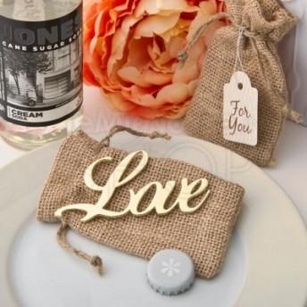 Apribottiglie con scritta love