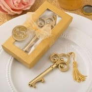 Bomboniera apribottiglie chiave oro