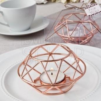 Porta candela geometrico