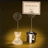 Segnaposto e segnatavolo busti sposi