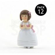 Calamita bambina vestito principessa - 12 pezzi