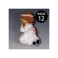 Calamita bambina che prega - 12 pezzi