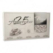 Confetti maxtris 25° anniversario argentati 1 kg