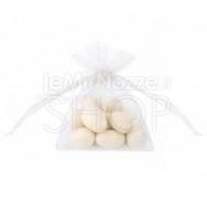 Sacchetti portaconfetti in organza bianco 20 pezzi