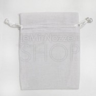 Sacchetto portaconfetti bianco in cotone misura media 24 pezzi
