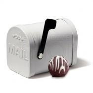 Box porta lettere stile country 6 pezzi