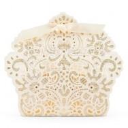 Elegante Box Con Fiocchetto
