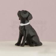 Cake Topper Labrador Black