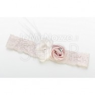 Giarrettiera vintage rose