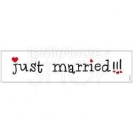 TARGA AUTO JUST MARRIED