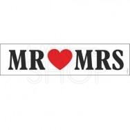 TARGA AUTO JUST MARRIED MR & MS