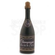 Bolle di sapone a forma di bottiglia di champagne nero 24 pezzi