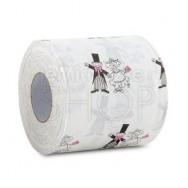 Rotoli di carta igienica con sposi 2 pezzi
