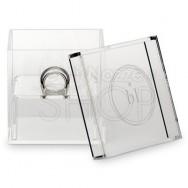 Box portafedi trasparente personalizzato