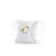 Cuscino Fedi Peonia Bianco 16x16