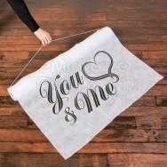 Tappeto per cerimonia You & Me
