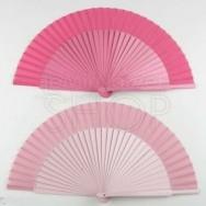 Ventaglio personalizzabile rosa