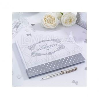 Guestbook bianco e grigio